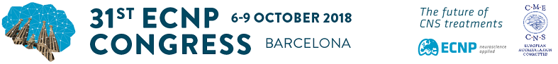 Click here to obtain CME credits for the ECNP 2018